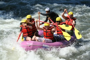 benessere fitness rafting