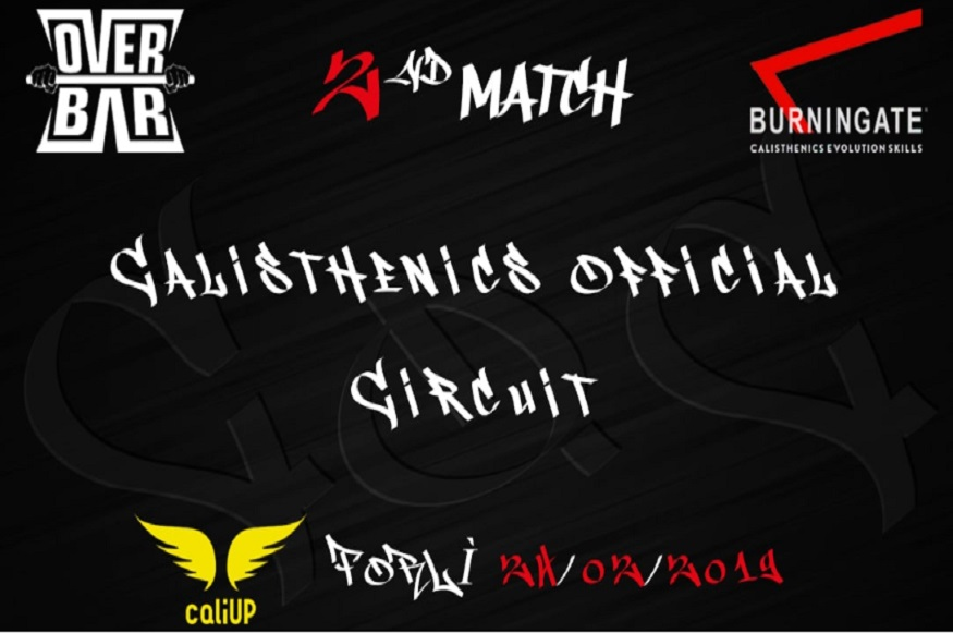Calisthenics official circuit freestyle entra in scena con la 2° Tappa a Forlì - Evento Sportivo