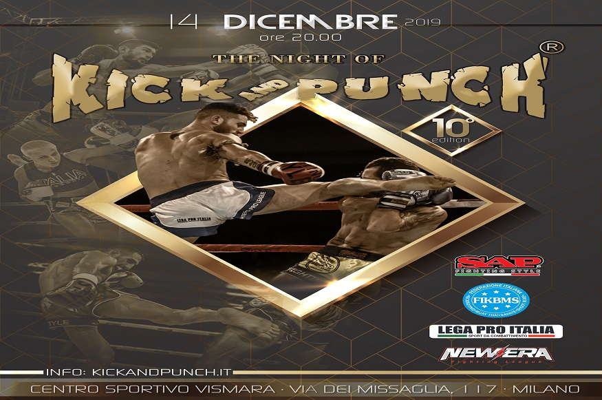 The Night of Kick and Punch giunge alla 10° edizione - Evento Sportivo