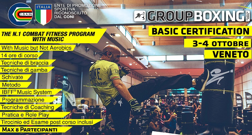 GroupBoxing® Basic - VENETO