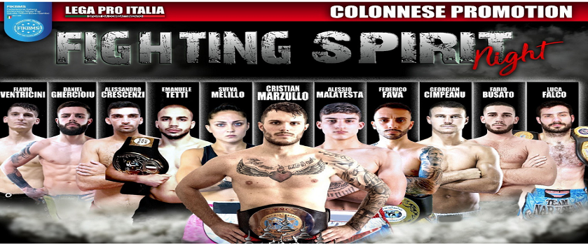Fight Spirit Roma 2020 - Evento sportivo